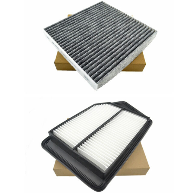 Combo Set Engine Cabin Air Filter For 2015-2020 Acura TLX