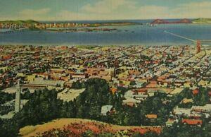 University-of-California-Campus-City-Berkeley-Bay-Vtg-Postcard-Litho-207-9B-H665