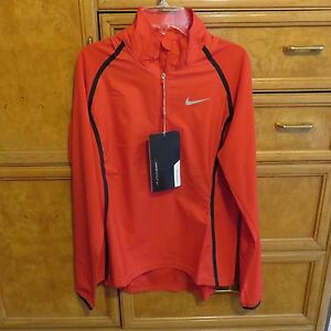 d228016ad15b Women s Nike golf red hyperadapt 1 4 zip pullover size S brand new ...