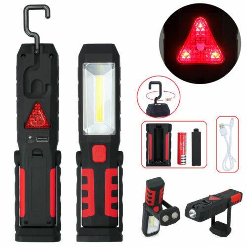 Neu COB-LED Stab Leuchte KFZ Arbeit Werkstatt Taschen Lampe Akku Magnet DE