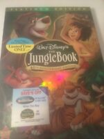 The Jungle Book (40th Anniversary Platinum Edition), Dvd, Authentic Disney