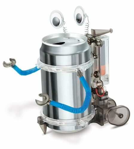 4M Green Science Fun Mechanics Tin Can Robot Project Kit Science Project NEW