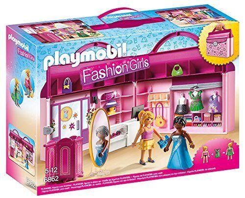 Playmobil 6862 - Tienda de Moda Maletín - NUEVO