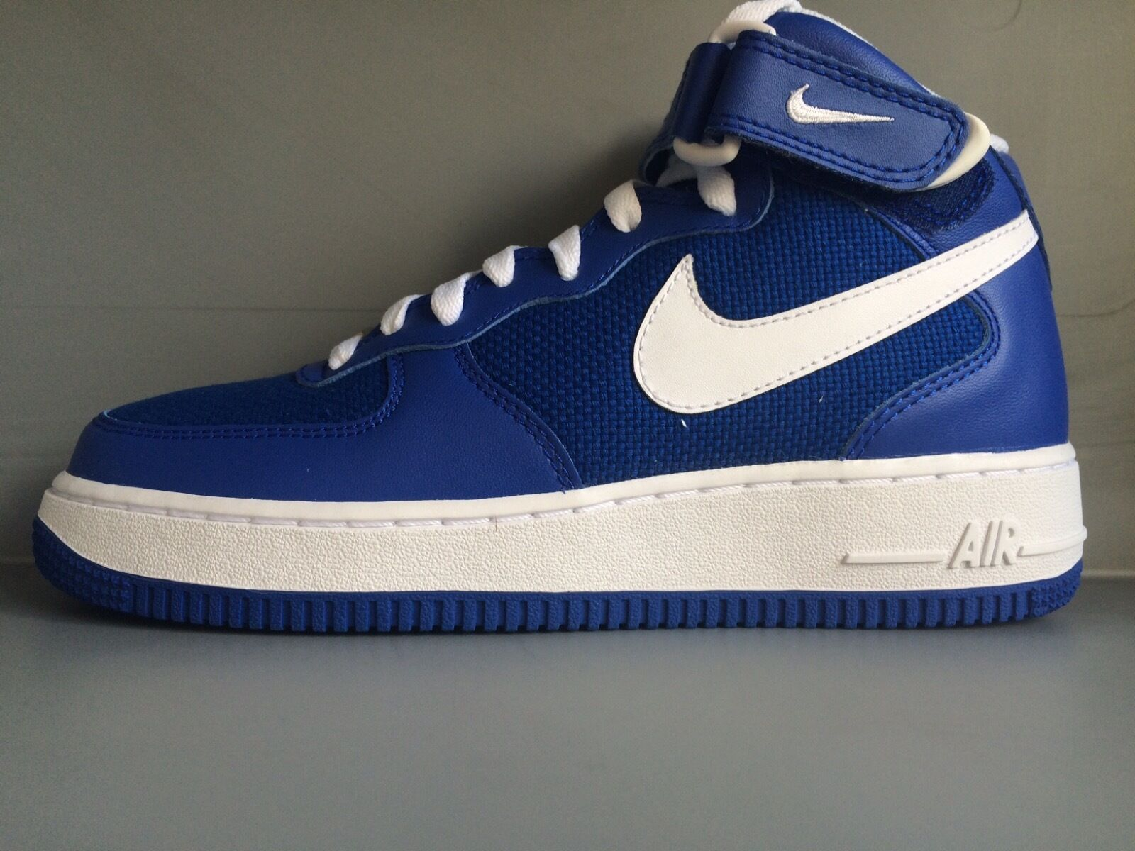 Nike Air Force 1 Mid '07 - Royal Weiß - US 6 EUR 38.5 UK 5.5 (315123 400)