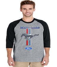 Buy Cool Shirts Ford Mustang T-shirt Pony Logo Tri Bar Tri Blend Tee