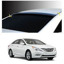 Smoke Roof Rear Visor Wing Spoiler Molding for Hyundai Sonata / i45 2011-2014