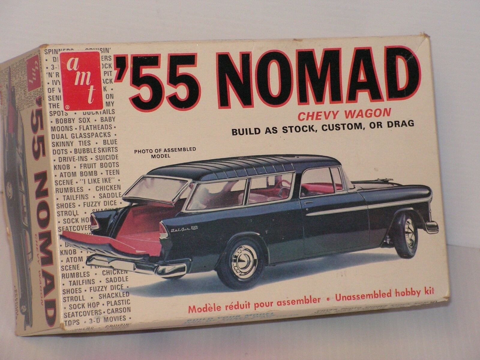 VINTAGE 1975 AMT  T289 1 25 1955 CHEVY MOMAD OPEN