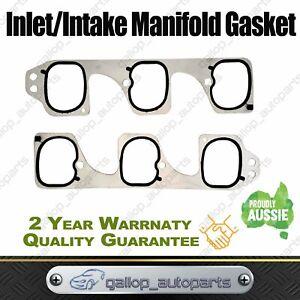 SUIT-HOLDEN-INLET-INTAKE-MANIFOLD-GASKET-VZ-VE-COMMODORE-V6-3-6L-ALLOYTEC