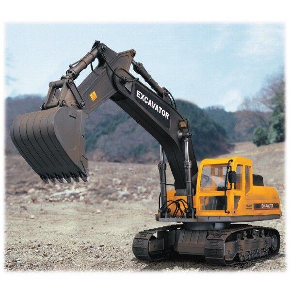 Gree scala 10 divertimentozionamento radiocouomodato Caterpillar Escavatore CON LUCI-hobby   rivenditore di fitness