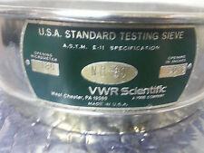 No 80 Vwr Scientific No 80 Usa Standard Testing Sieve 00070inches