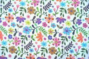 Deko Mobel Patchwork Stoffe Baumwolle Vorhang Gardine Bunte Blumen