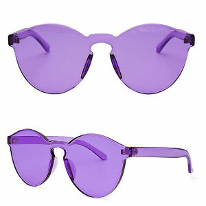 Women Cat Eye Transparent Candy Sunglasses Sun Shades Men Luxury 8 Colors New XX