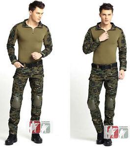 USMC-MARPAT-WOODLAND-Gen3-G3-Combat-Suit-Shirt-Pants-Military-Tactical-Uniform