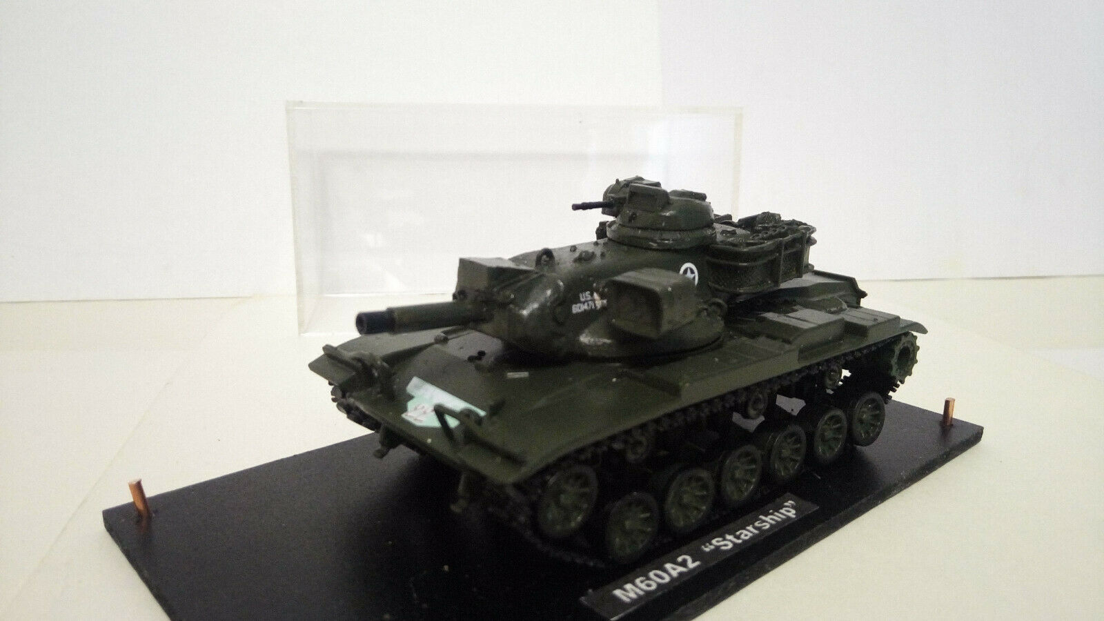 CHAR  M60A2 estrellaSHIP  USA 172   resine