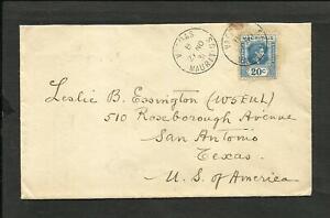 BRITISH-MAURITIUS-1936-COVER-TO-USA-SAN-ANTONIO-VACOAS-CANCEL