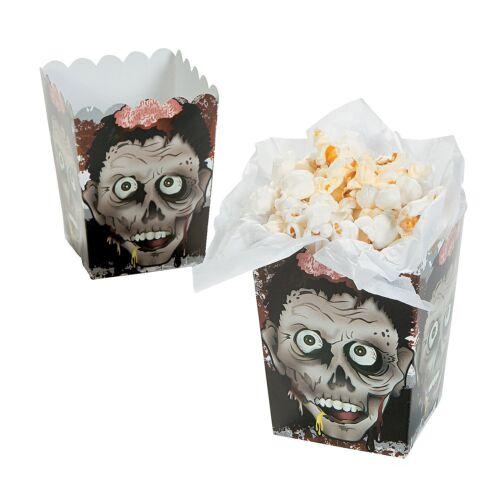 24 Count Halloween Zombie Head Mini Popcorn Boxes