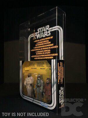 Star Wars Vintage Jabba The Hutt Action Playset Deflector DC® MIB Display Case