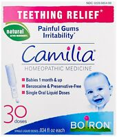 Boiron Camilia Teething Relief, 30 Count (0.034 Fl Oz Each) , New, Free Shipping on Sale