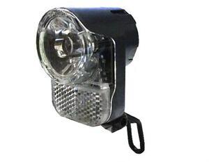 15 Lux Fahrrad LED Scheinwerfer AXA Echo 15 Dynamo für GIANT KTM Stevens u.a.