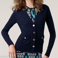 Tory Burch Merino Wool Cardigan Size Xs
