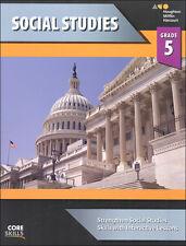 Grade 5 Core Skills Social Studies Curriculum Workbook 5th Homeschool