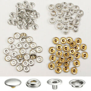 Mixed Models Snap Button Press Stud Kit Assortment Kit For Belts Shoes Jacket