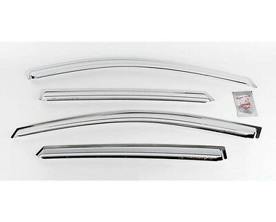 Chrome Window Line Sill Trim 4pc 1Set For 2010 2014 Hyundai Tucson ix35