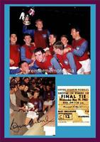 WEST HAM UNITED FC 1965 CUP WINNERS CUP FINAL BOBBY MOORE SIGNED (PRINTED)