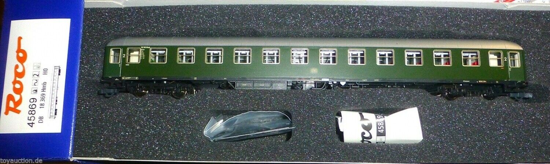 Express Train Wagon B4üm 54 doors open DB Ep3 for AC Roco 45869 H0 1 87 LD1µ