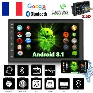 7-034-Bluetooth-Voiture-Stereo-Navi-Gps-Car-Radio-Android-8-1-Autoradio-USB-2-DIN