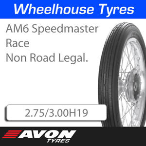 Avon AM6 Speedmaster Race 2.75//3.00H19 3027M N.H.S
