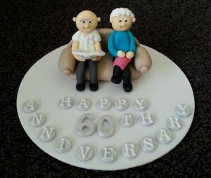 Edible-handmade-married-couple-anniversay-birthday-retirement-cake-topper