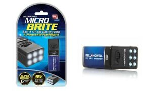 Bell-Howell-Microbrite-LED-Flashlight-for-9V-Batteries-As-Seen-On-TV-NEW