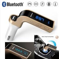 Wireless Bluetooth FM Transmitter Kit For Car MP3 Music Player Radio & USB Port
