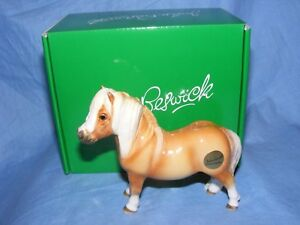 John-Beswick-Shetland-Pony-Bay-Horse-JBH46-Figurine-New-Boxed-Present-Gift
