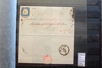 f104179 Briefmarken Offizielle Website Geschichte Postal Brief N °15cb Sardinien