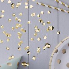 GOLD CONFETTI X-Large Table Party Shiny Confetti 14g Bag Birthdays Anniversarys