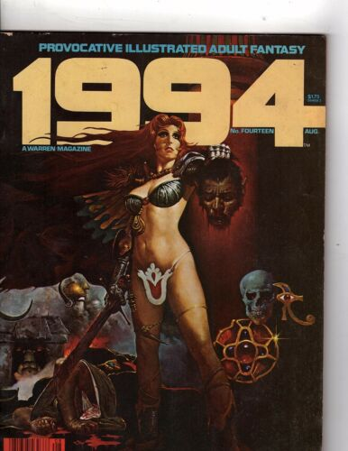 1994 Magazine Number 14 Provocative Illustrated Adult Fantasy Aug1980 OZ347