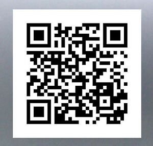 qr code sticker to link website or facebook page business stickers