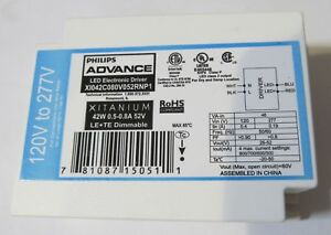 PHILIPS-XITANIUM-LED-ELECTRONIC-DRIVER-BALLAST-XI042C080V052RNP1-DIMMABLE-42W
