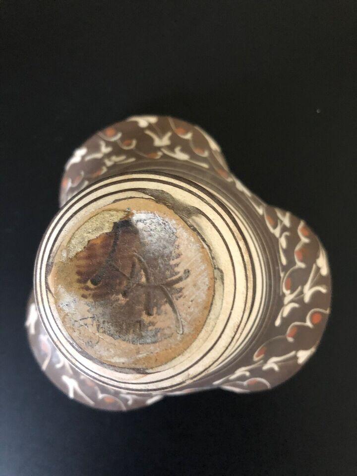 Keramik, Skål uglaseret, Kähler