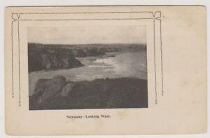 Cornwall Postkarte - Newquay, Blick nach Westen (A1399)