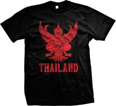 Emblem of Thailand Mueang Pride Ratcha Anachak Thai Siam Juniors T-shirt