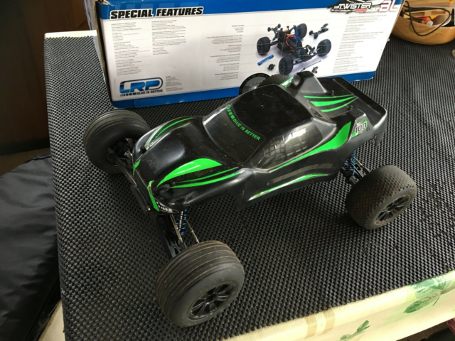 Fjernstyret bil, Lrp S10, skala 1/10, Super fed Racing…