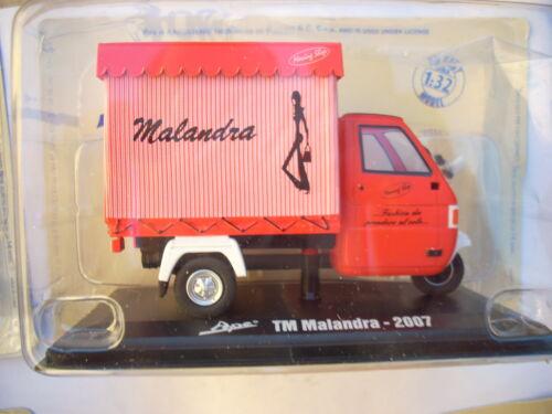 DIE CAST 1//32 APE TM MALANDRA 2007  ITALERI