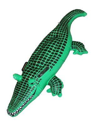 Nuovo Gonfiabile Coccodrillo Aligator Dundee Hunter Accessorio Costume Festa- Imballaggio Di Marca Nominata
