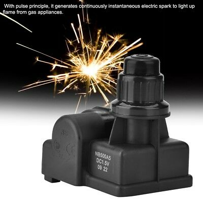 Spark Generator Igniter Picnic BBQ Gas Grill 1//3//4//5 Outlet Push Button Ignitor
