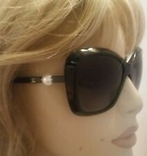 5303 Chanel Black & Pearl gold CC Sunglasses Oversized Square Polarized & Case