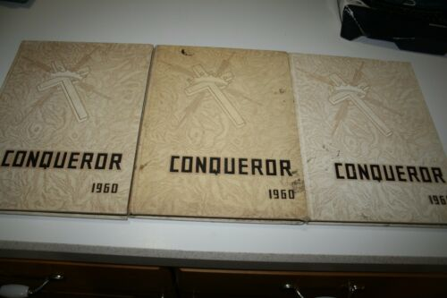 Vintage 1960 The Conqueror Yearbook Emmanuel Christian Midwestern Baptist School