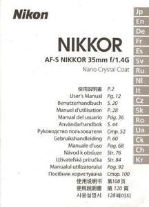 NIKKOR-AF-S-VR-200mm-f-2G-IF-LENS-INSTRUCTION-MANUAL-NIKON-DSLR